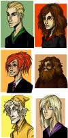 Cast and Crew of Potter - part 2 by erli