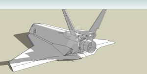 Shuttle GPZ-15 WIP I by Agent-6