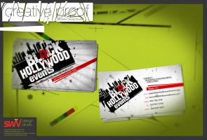 BizCard: Black Hollywood by angelaacevedo