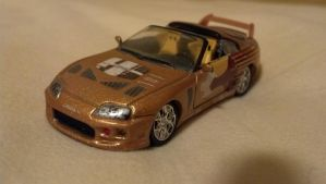 2Fast 2Furious Toyota Supra by benracer
