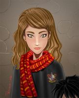 Potter Navidad avance color by duendefranco