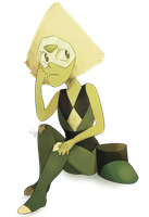 small peridot by C-H-I-Z-U