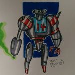 Robot doodle by trentpower