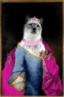 Queen Kittycat by Melevy