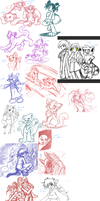 The BIG doodle page by 0okamiseishin