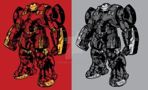 Age of Ultron Hulkbuster Armor by DCGray