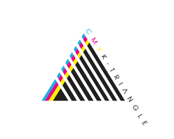 CMYK TRIANGLE by MrBell