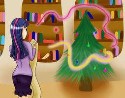Twilight christmas by Viracon