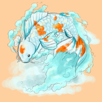 cloud koi by screaming-explosions