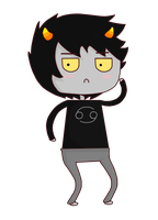Grump Karkat by JiggleJello