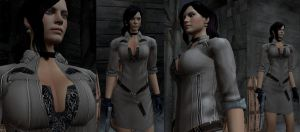 Excella Re5 Concept art 1 by Zerofrust