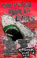Shark Noise show Poster by Whitsteen