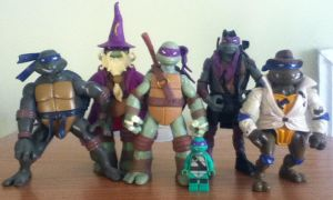 My Donatello Collection by SithVampireMaster27