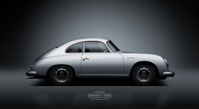 Porsche 356 by AeroDesign94