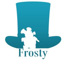 Frosty The Snowman Silhouette by 4and4