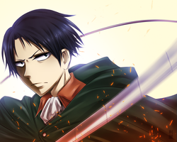 Rivaille by Lil0Kiseki