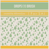 {SAI resources} Water Drops Brush by ASlovesLisa