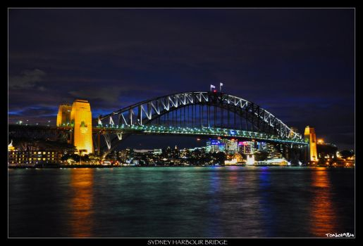 Sydney Harbour Bridge 1 by tonio1984