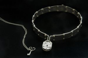 Riveted collar necklace 2 by timjo
