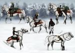 Snow Sketches by sealle