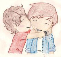 Larry Stylinson by XEmoAnimeGirlX