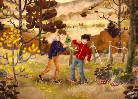When we were young - Collab with Manadhiel by Zippora