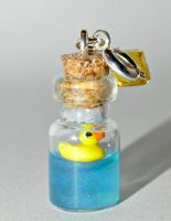 Rubber Ducky Charm for Charm Bracelet by Secretvixen