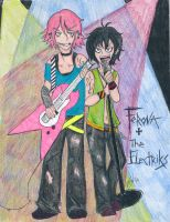 Ferona and The Electriks by Saffronthewhammy