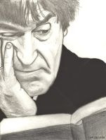 Troughton with 500 year diary by dragon-64