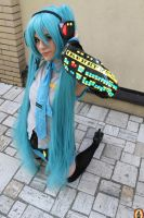 Miku Cosplay by BloodyMeg