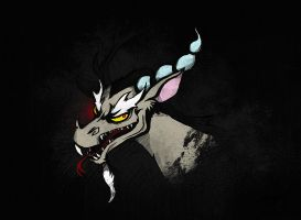 My Little Pony Discord Chaos Reigns by kaizerin