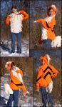 Growlithe hoodie combo by TheDragonSensi