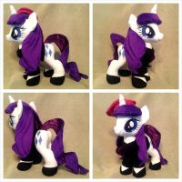 Art Critic/Beatnik Rarity Plush by equinepalette