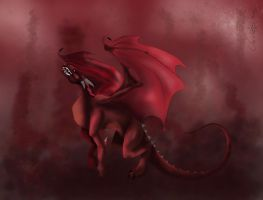 Red Dragon by aiduqui