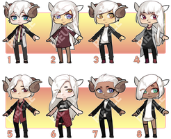 [Set Price Adopts] 2015 Sheep by rieule
