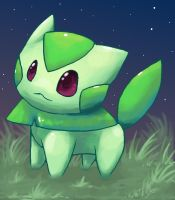 Grass Cat by Pand-ASS