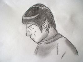 Amine Style likish of Spock by KeeperNovaIce