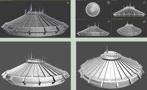 Space Mountain by Ventapane