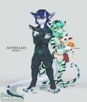 Asteria Six Project by The-SixthLeafClover