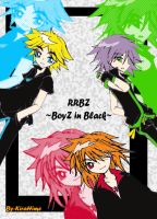 RRBs - Boys in Black by KiraHime
