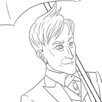 Gotham Oswald Cobblepot - WIP by ashes2steel