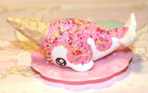 Ice Cream Narwhal (New Version) by SprinkleChick