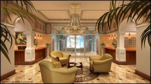 Lobby Front 3D by zoomzoom