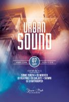 Urban Sound Flyer Template by styleWish