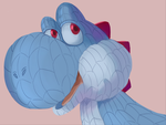 Daily Doodle: Wooly yoshi by CountDraggula