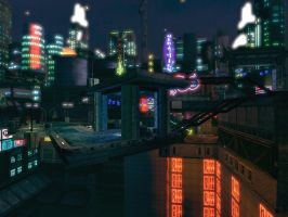 Hong Kong District by Storm-X