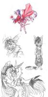 Sketchdump by IamSKETCHcat