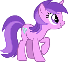 My first vector of Amethyst Star. by Flutterflyraptor