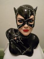 Bust catwoman resin kit by Enelaur