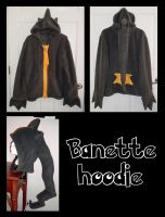 Banette Pokemon hoodie cosplay by Bahzi